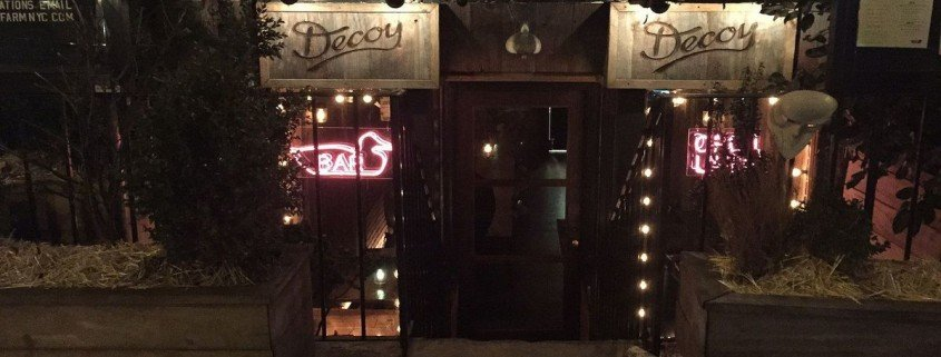 Decoy restaurant
