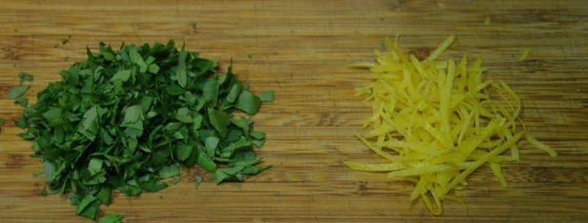 Perejil y limón