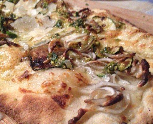 Pizza de calabacín opción 1