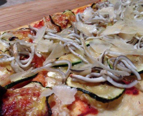 Pizza de calabacín