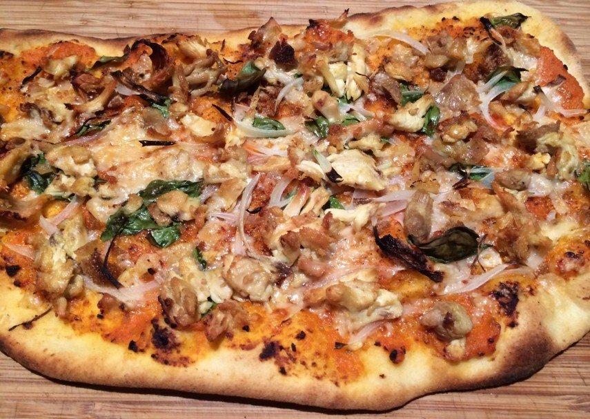 "Pizza de pollo Millenium Falco ""Roberta's"""