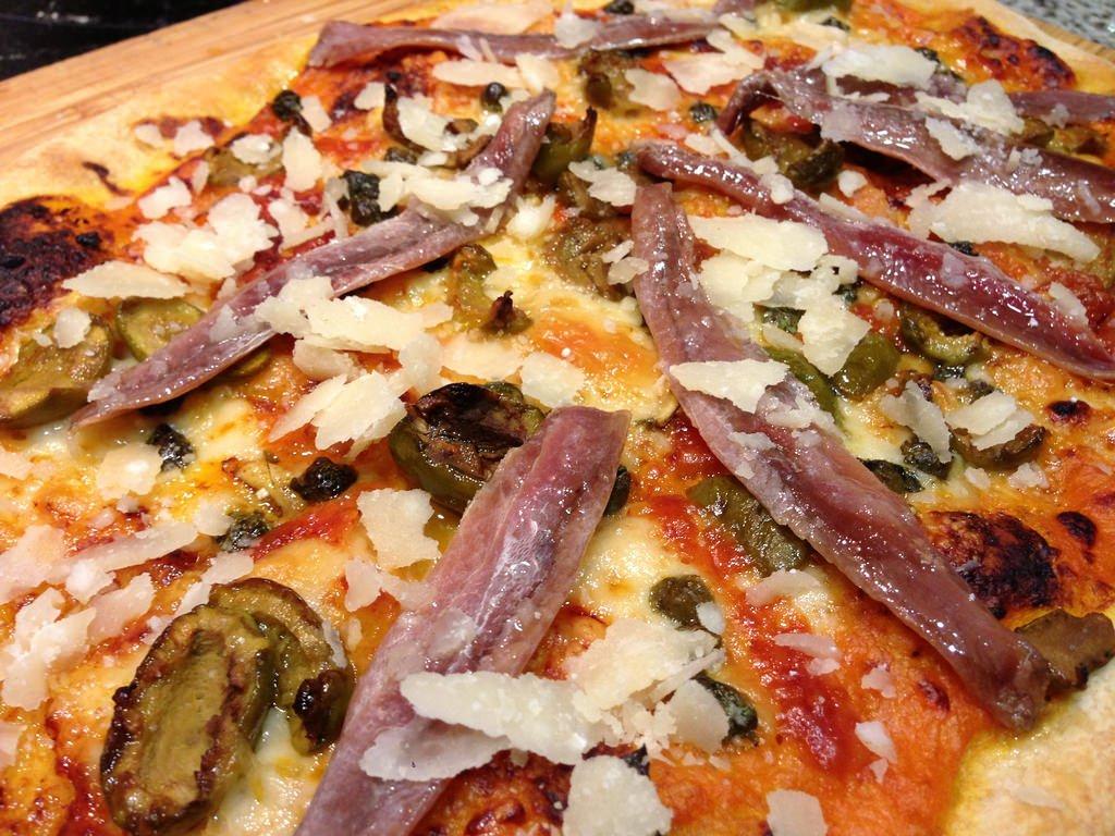 Receta casera de pizza...