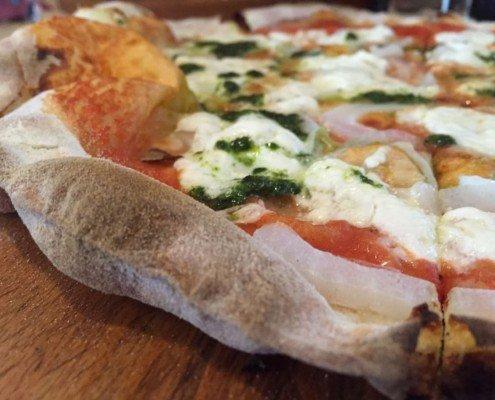 Pizza en La cúpula