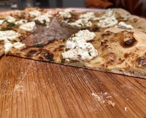 Pizza con Ricotta